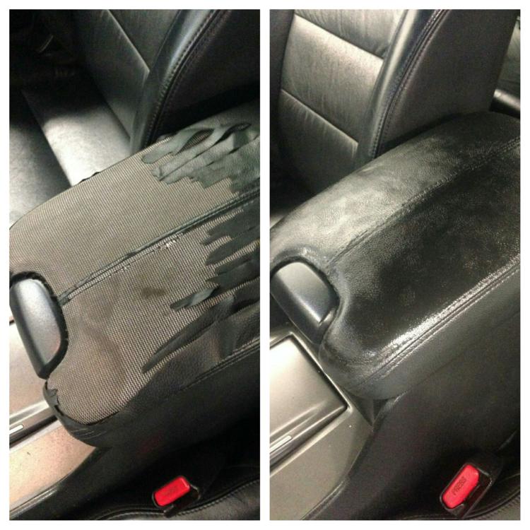 auto restoration repair vinyl car leather daimler classic examples interior cleaning