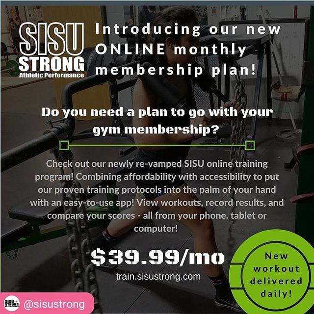 #RepostSave @sisustrong with @repostsaveapp ・・・ Want help with general overall fitness at an affordable price? - Check out our action sports general strength and conditioning program. - It runs year round and is designed to help you - 1. Move better . 2. Feel better . 3. Perform better . 4. Play longer #sisustrong #skiing #mtb #bmx #dh #enduro #mx #moto #snowboarding #actionsports #wetrainparkcity #agelessathlete #bodyarmor #onlinecoaching #remotecoaching #fitness #strength #performance