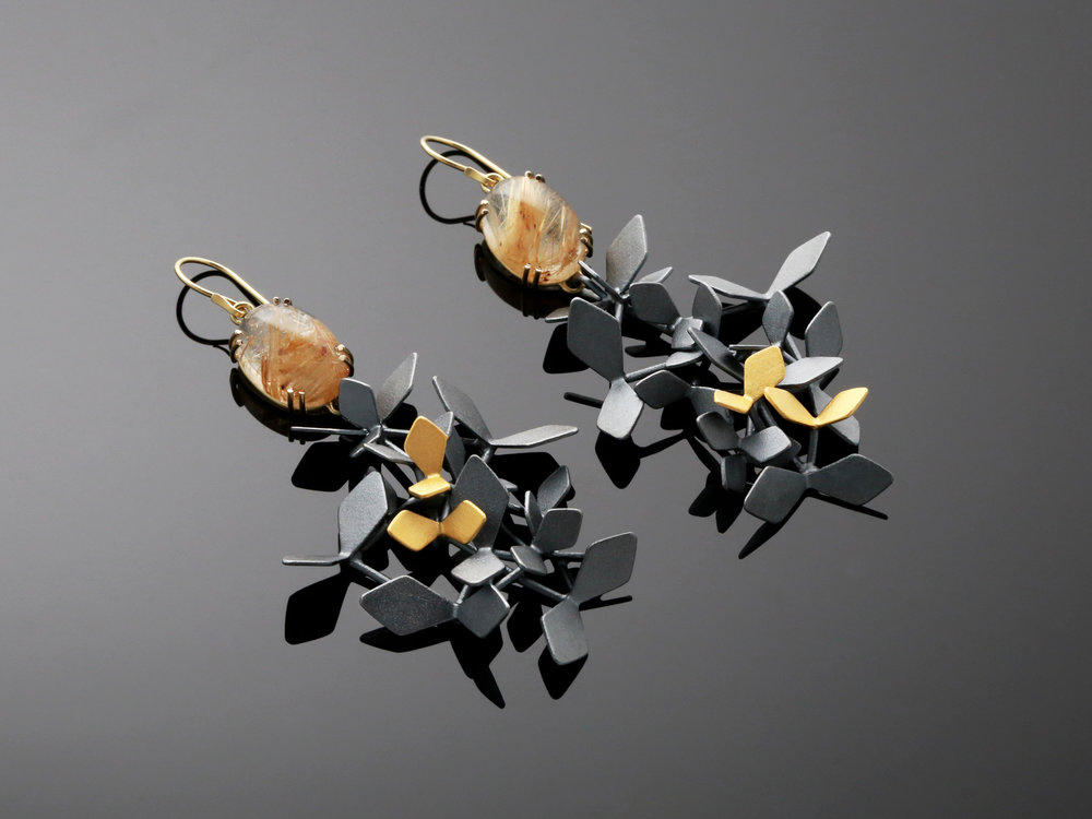 Black Forest Sunshine/ earrings 4 KB