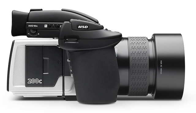 The medium format Hasselblad H5D-200c captures 50MP images and costs $45K, body only