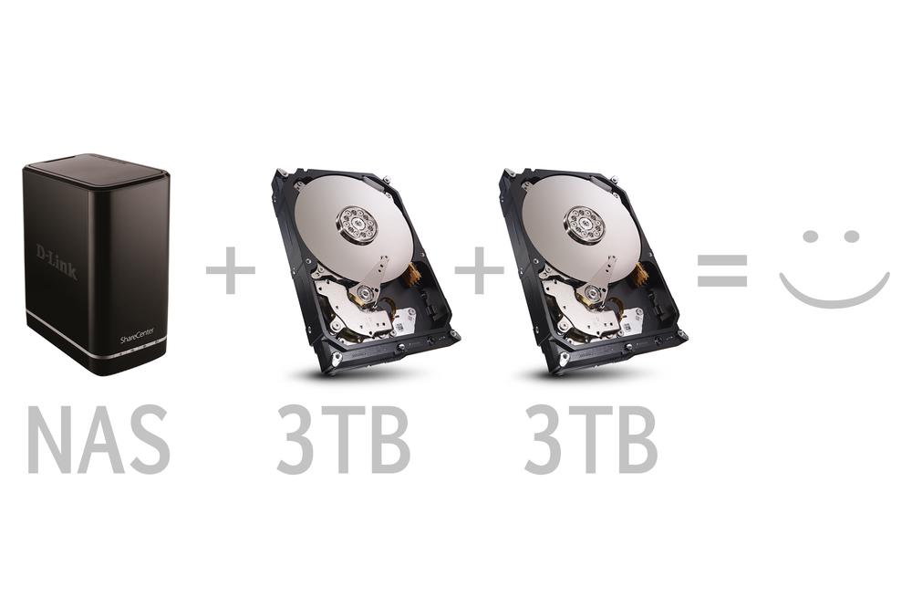 NAS+3TB