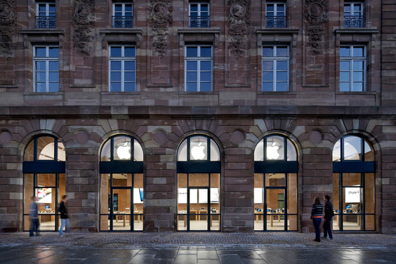 Apple Store in Strasbourg, France