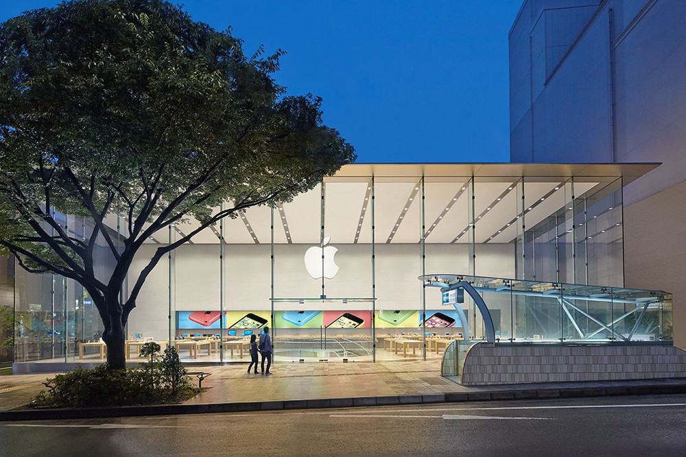 The new Omotesandō Apple Store