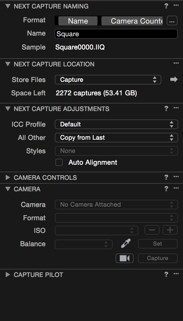 Capture One Pro 3