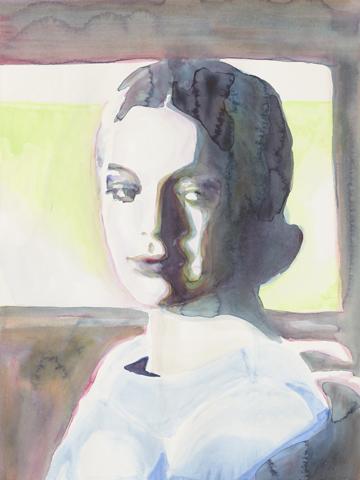 Hélène  |Aquarell auf Büttenpapier | 61 x 46 cm