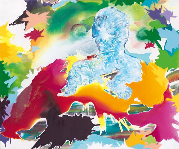 Mr. Beam |Tusche, Acryl und Öl auf Leinwand | 100 x 120 cm