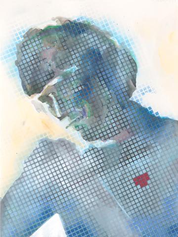 Overkill |Aquarell und Acryl auf Büttenpapier | 61 x 46 cm