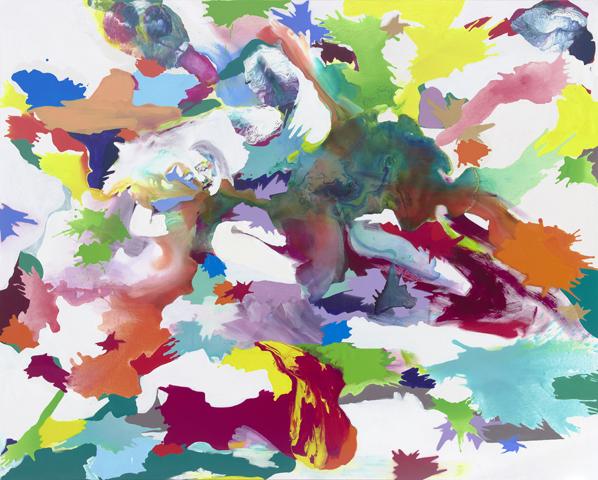 Die Marquise von O  …  | Tusche, Acryl und Öl auf Leinwand | 200 x 250 cm