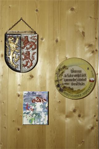 Interieur V. - Olperer Hütte | fine art print | 100 x 68 cm