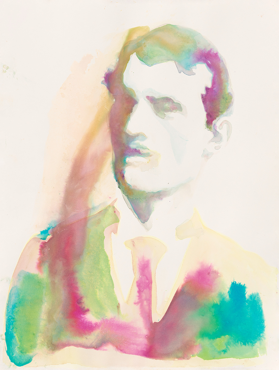 Edvard Munch  | Aquarell auf Büttenpapier | 61 x 46 cm