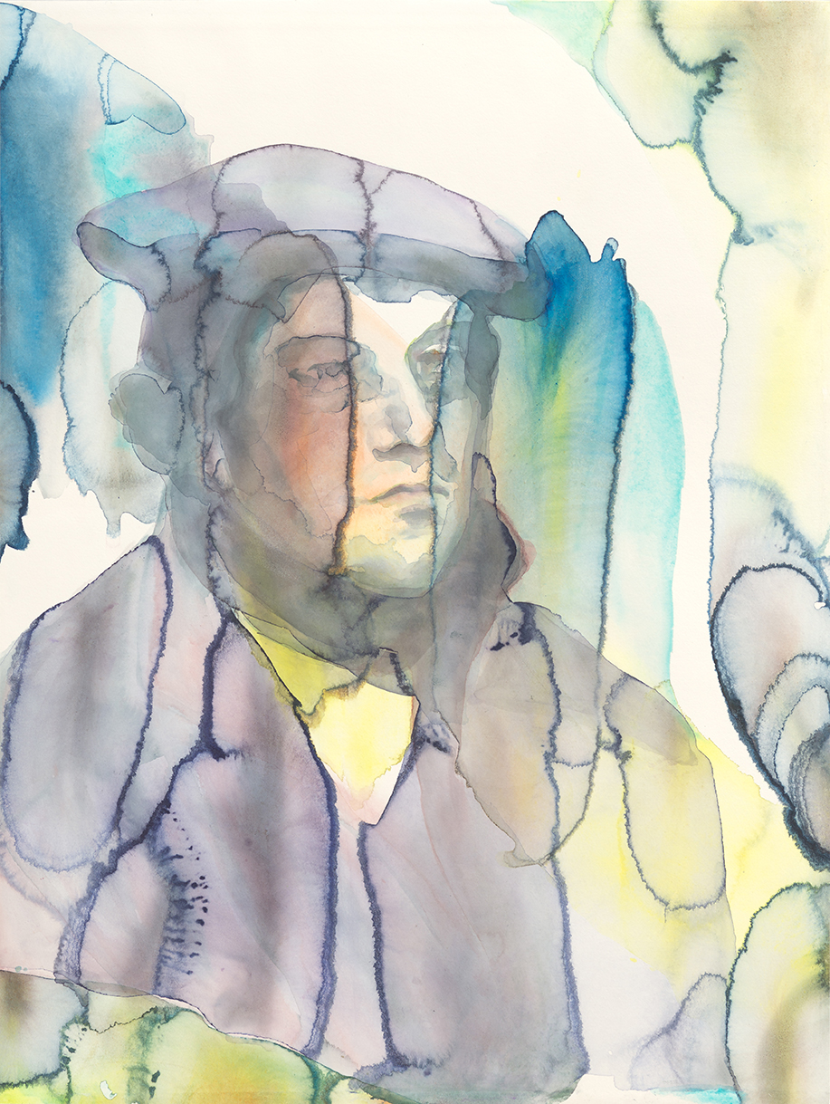Martin Luther   - The Future Of An Illusion  | Aquarell auf Büttenpapier | 61 x 46 cm