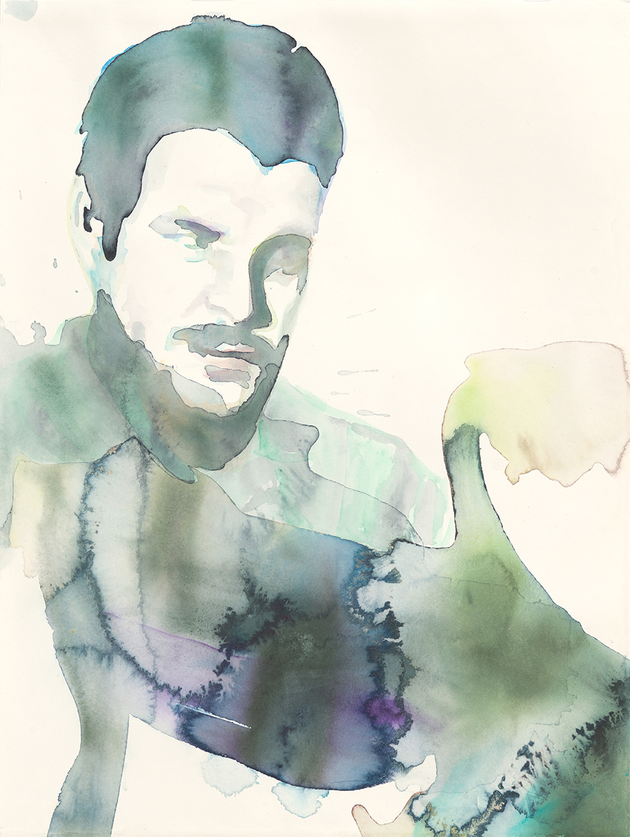 Che Guevara - The Future Of An Illusion  | Aquarell auf Büttenpapier | 61 x 46 cm