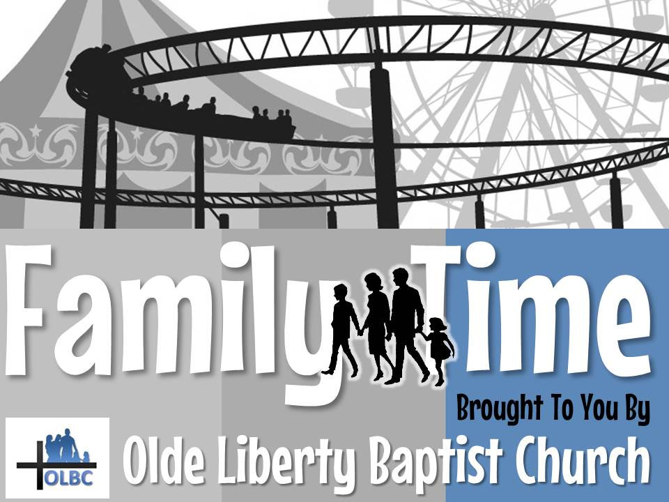 Family T.I.M.E - Join us for Family Time Bible School - Sunday Mornings at 10 a.m.Together Is More Exciting!