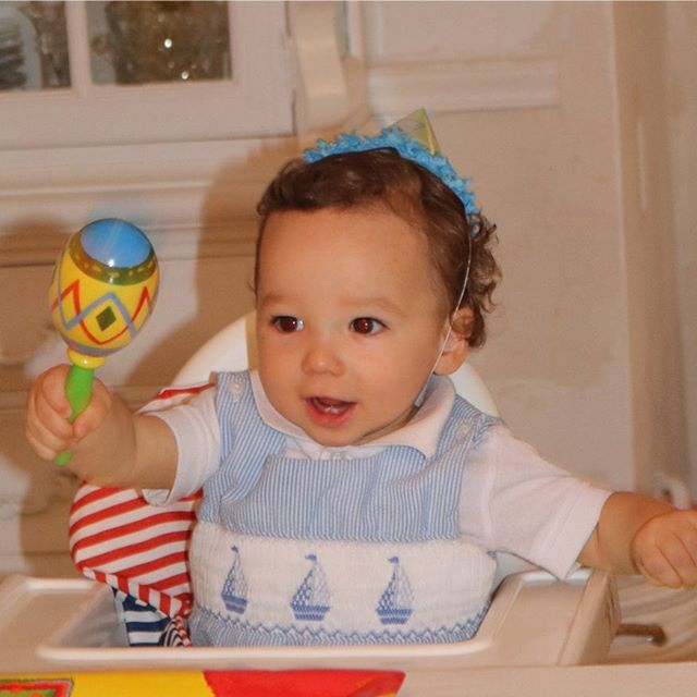 Happy 1st birthday sweetheart - we love you so much!!! @lukepdoherty #coltondoherty #leontinedoherty 💙💙💙
