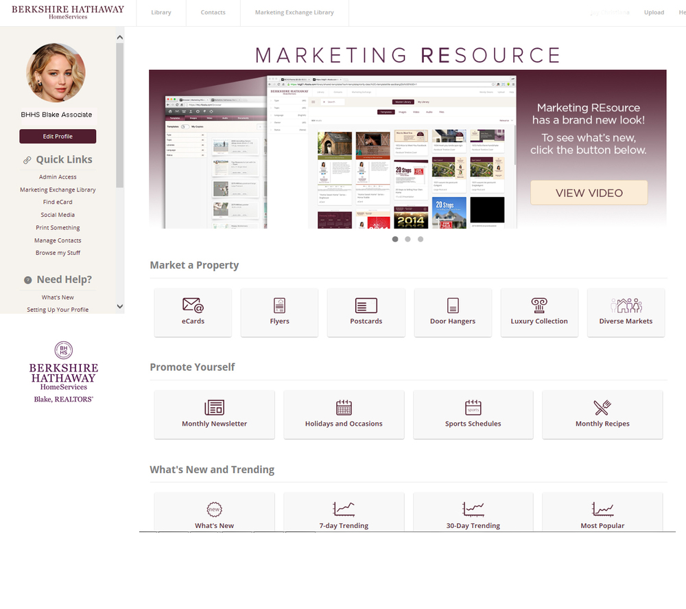 Marketing REsource snapshot