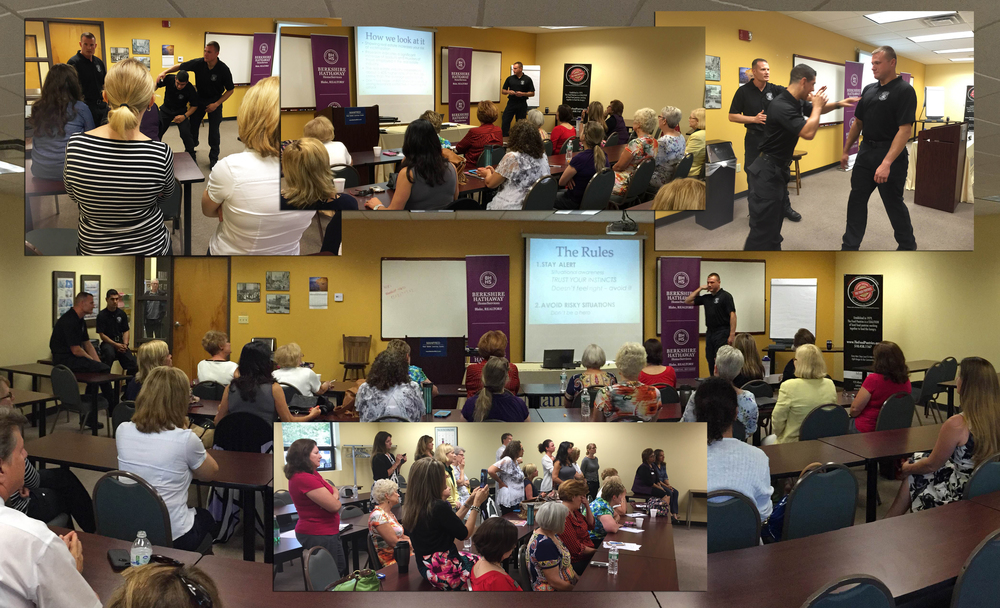 Realtor Safety & Self Defense Class with the Bethlehem Police Department