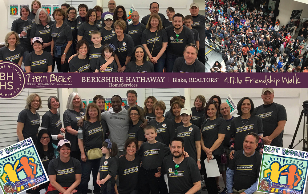 Many of our associates and employees participated in the Best Buddies Friendship Walk 2016 (featured above).