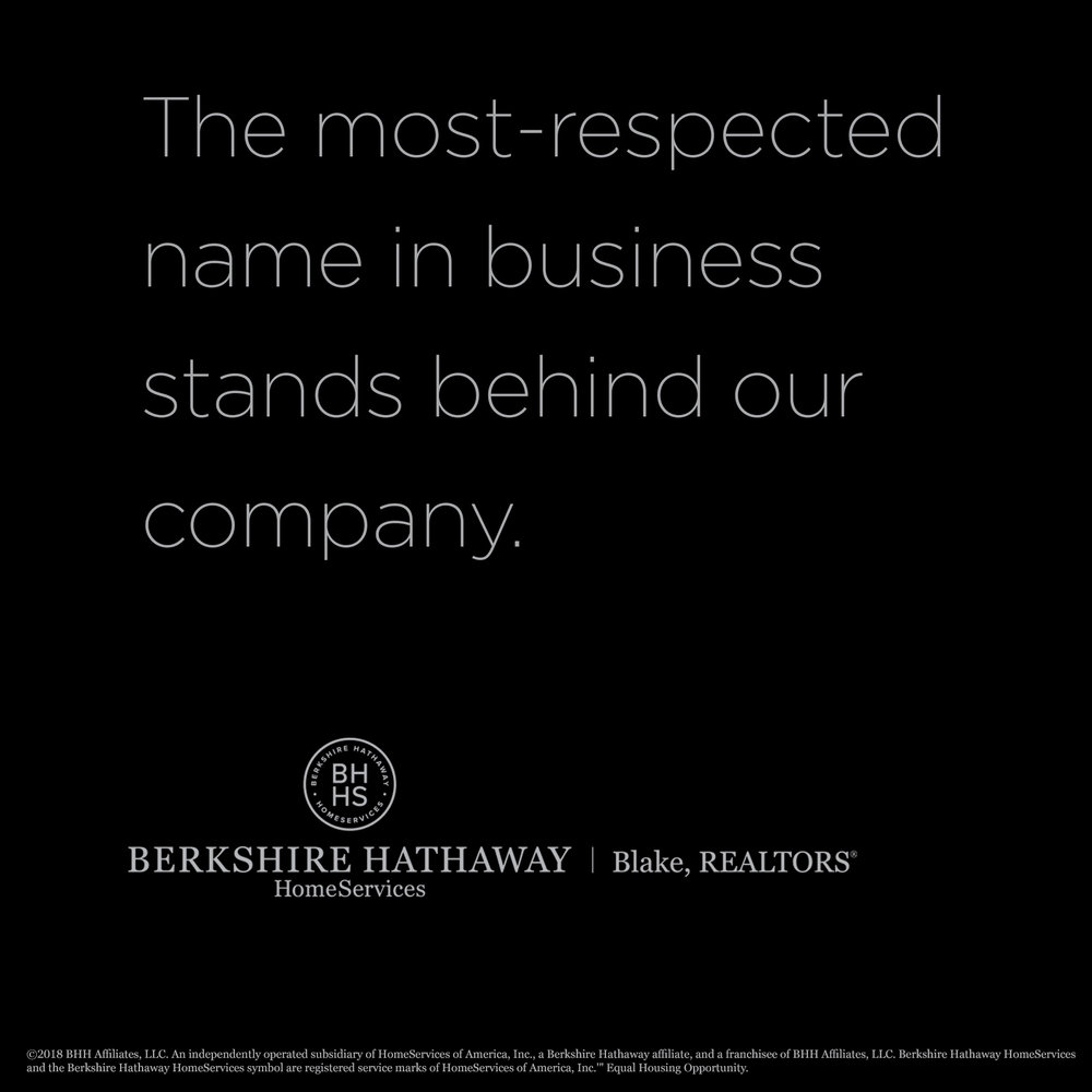 The most respected name in business stands behind our company.