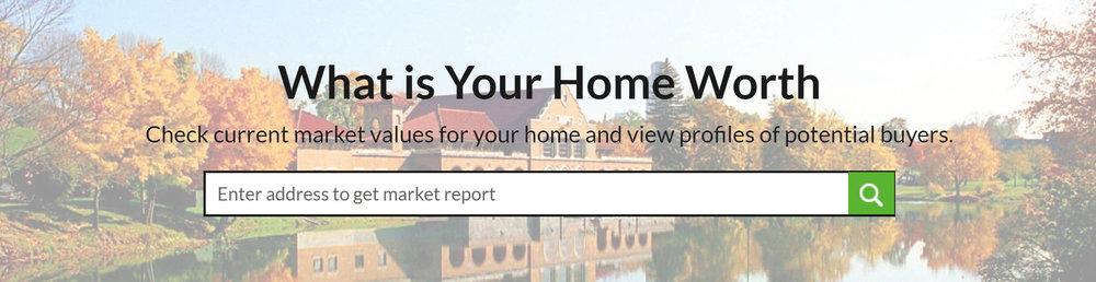 Check out our new home valuation tool... receive 3 different independent home value reports.