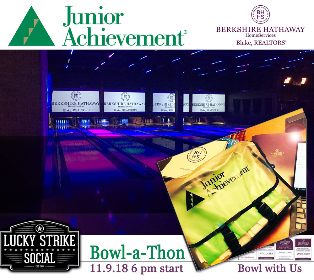 Bowl with us this November 9th at Lucky Strike in Crossgates Mall.