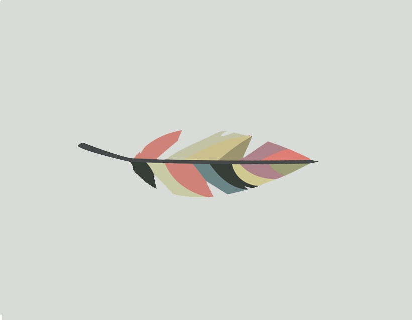 Non'D'Script Feather