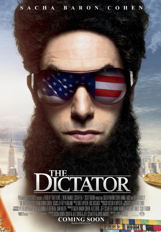 THE DICTATOR - film -  (additional music)