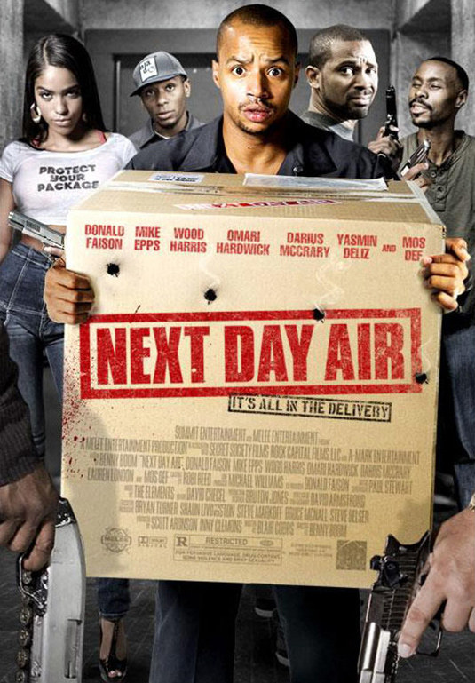 NEXT DAY AIR - film -  (additional music)