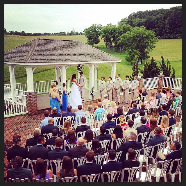 Ceremony magic!