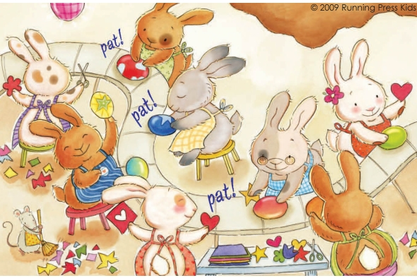 Easter Bunny's Workshop © Running Press Kids