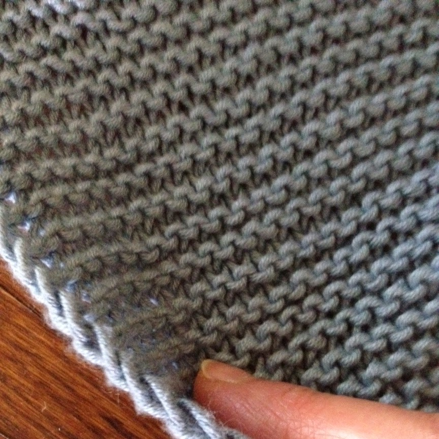 Even the simplest garter stitch project can look hand crafted.