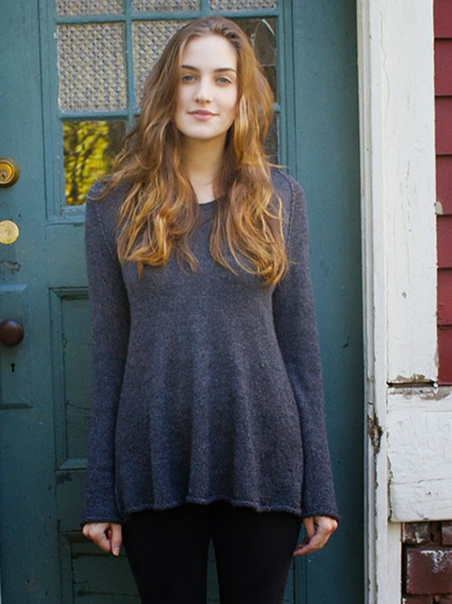 Berroco Folio Yarn Graphite Sweater Free Knitting Pattern Blog