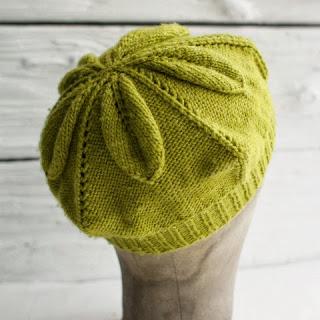 Manos Silk Blend Beret Free Knitting Pattern