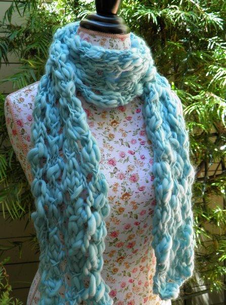 Free Knitting Patterns Rustic Lace Scarf Blogbleknits