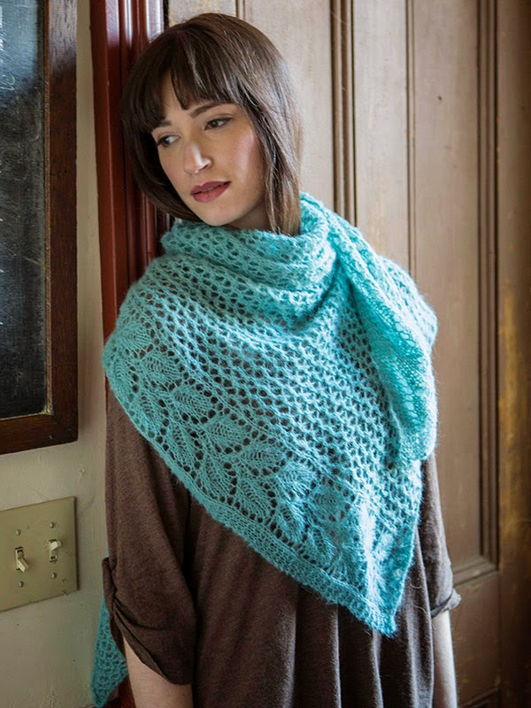 Berroco Andean Mist Squelette Shawl Free Knitting Pattern — Blog ...