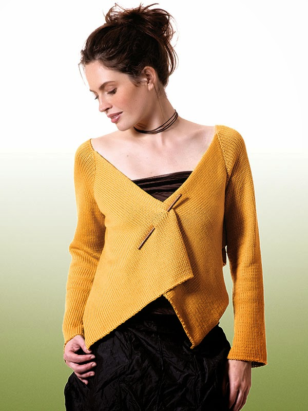 Berroco Modern Cotton Cardigan Free Knitting Pattern