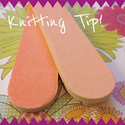 How a Nail File can Improve Your Knitting