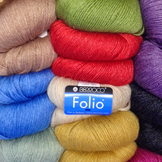 Which color of Berroco Folio yarn will you choose?