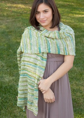 Free Pattern: Classic Elite Bella Lino Shawl