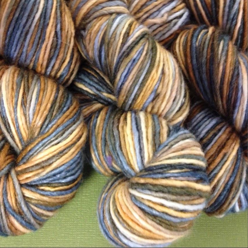 Manos del Uruguay space dyed yarn