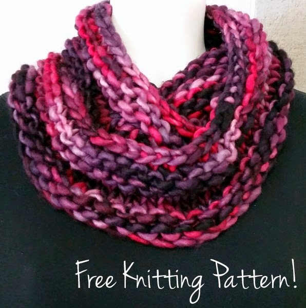 Let\'s Be Franca Cowl Free Knitting Pattern — Blog.NobleKnits