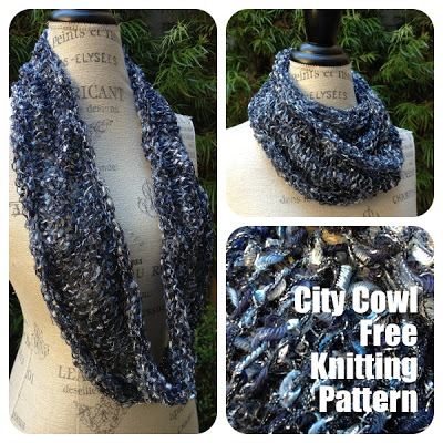 City Life Infinity Scarf Free Knitting Pattern Blogbleknits
