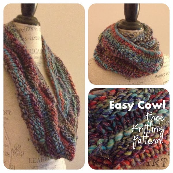 Berroco Brio Easy Cowl Free Knitting Pattern Blogbleknits