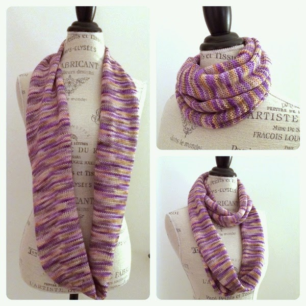 Manos Alegria Yarn Infinity Scarf Free Knitting Pattern Blog
