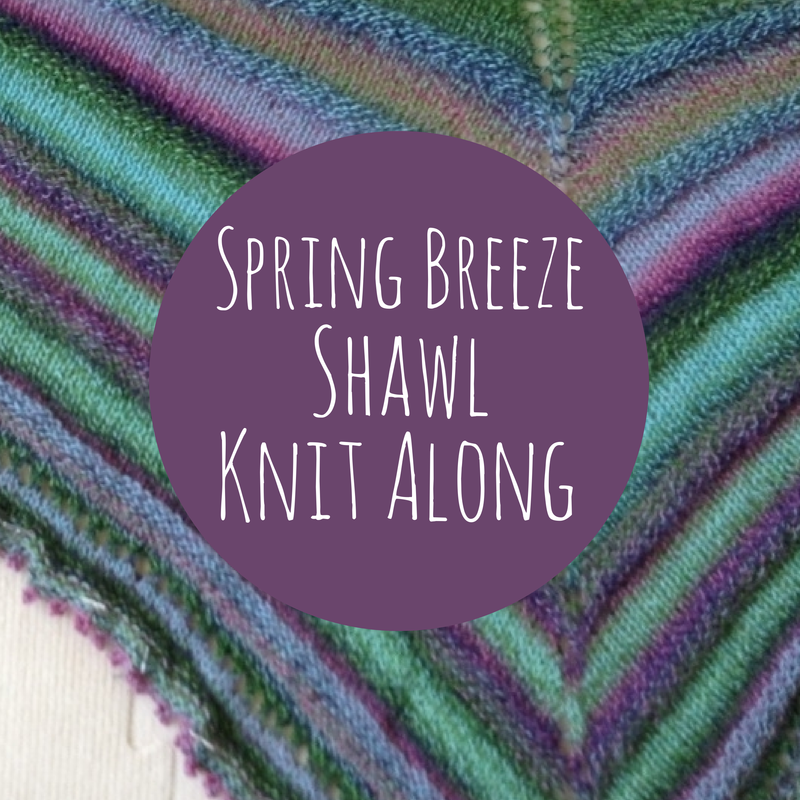Spring Breeze Shawl Knit Along