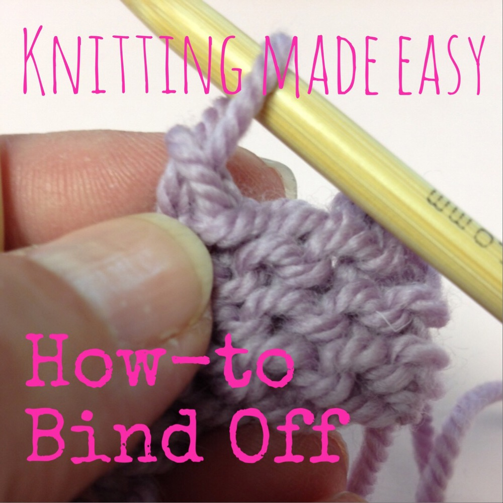 Knitting: How To Bind Off