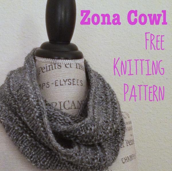 Free Knitting Pattern Long Cowl : Zona Cowl Free Knitting Pattern   Blog.NobleKnits