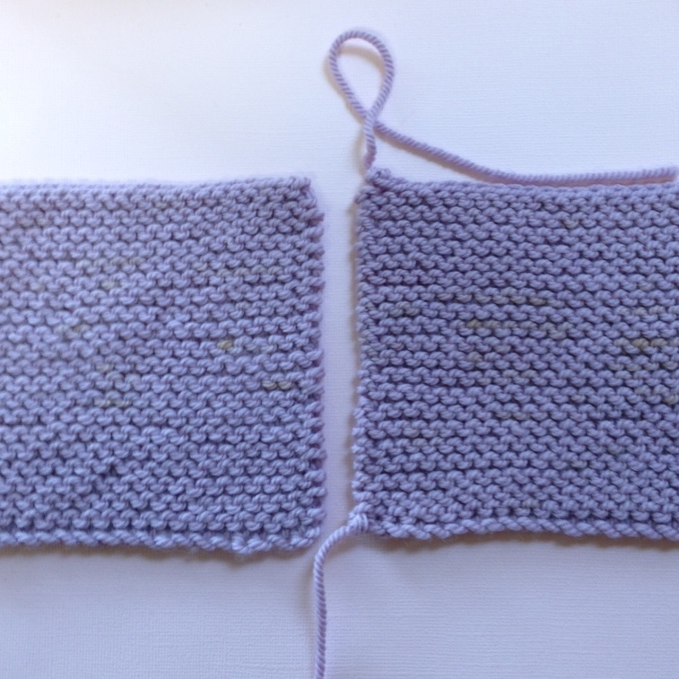 Knitting Joining Seams Garter Stitch : How-to Seam in Garter Stitch   NobleKnits Knitting Blog