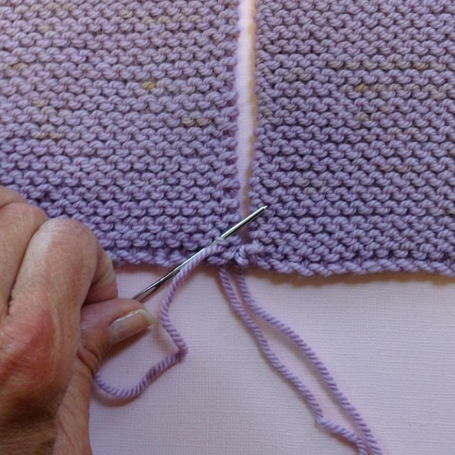 Knitting Garter Stitch Right Side : How to seam in garter stitch — bleknits