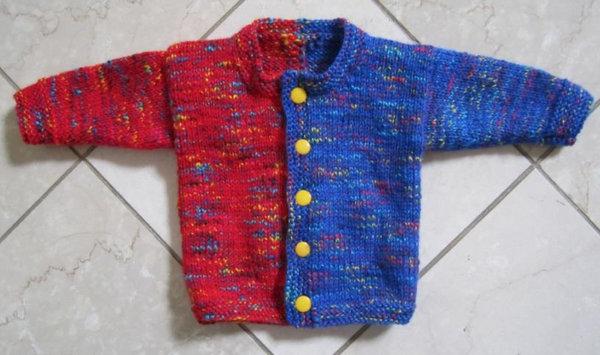 Jelli Beenz Baby Cardigan Knitting Pattern