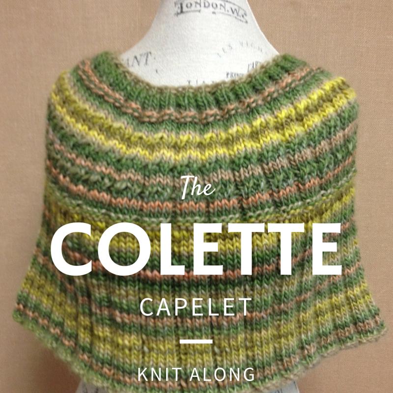 Colette Capelet Knit Along
